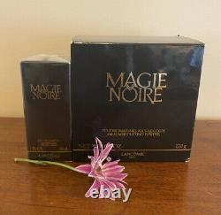 1 Magie Noire by Lancôme 1.7 Eau Toilet. 1 Dusting Powder 6. Oz. Vintage NIB