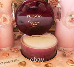 100%authentic Huge Dior Poison Vintage Perfumed Talcum Dusting Powder (reduced)