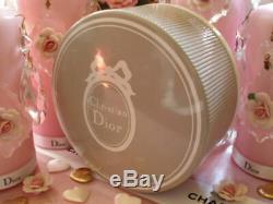 100%authentic Huge Rare Dior Diorissimo Vintage Perfumed Talcum Dusting Powder