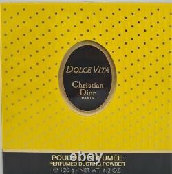 (125,00eur/100g) 120g Christian Dior Dolce Vita Perfumed Dusting Powder Neu
