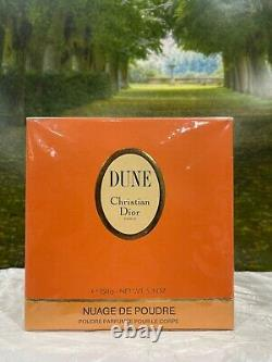 150g Dune Perfumed Dusting Powder by Christian Dior (new with box)