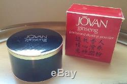 1975 Jovan GINSENG 5 oz Perfumed Dusting Powder Rare Vintage