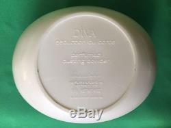1985 Vintage Collectible White Diva Perfumed Dusting Powder Make up 113g 4oz USA