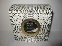 8 oz Sealed Guerlain Shalimar Perfumed Dusting Powder 227 gr Vintage