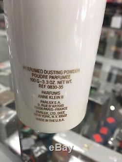 ANNE KLEIN PERFUMED DUSTING POWDER 100g & EDP 30 ML SP