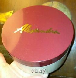 Alexandra de Markoff ALEXANDRA Perfumed Dusting Powder 7 oz. NOS Unopened, Orig