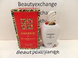 Amarige Givenchy Perfume Dusting Body Powder Satin Talc 5 oz Boxed