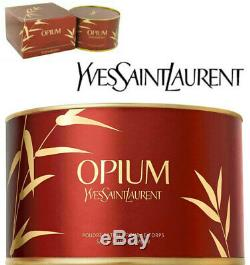 BEYOND RARE SEALED HUGE 100G YSL OPIUM PERFUMED TALCUM DUSTING Satin BODY POWDER