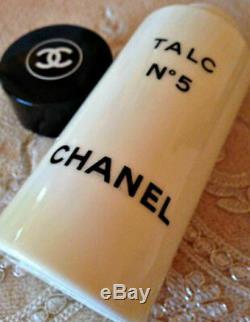 BEYOND SUPER RARE 98g CHANEL No 5 VINTAGE PERFUM TALCUM TALC DUSTING BODY POWDER