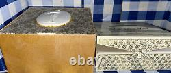 Bal A Versailles Perfume Dusting Powder Sealed Refill WithUsed Box & Puff See Pics