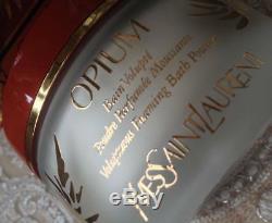 Beyond Rare Huge 150g Ysl Opium Perfumed Talcum Talc Dusting Foaming Bath Powder