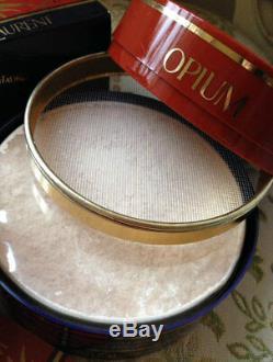 Beyond Rare Huge 150g Ysl Opium Vintage Perfum Talcum Talc Dusting Body Powder