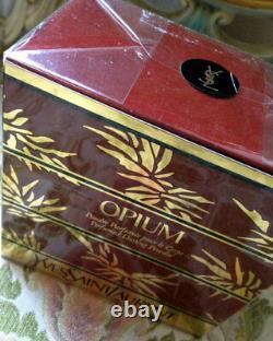 Beyond Rare Sealed Huge 150g Ysl Opium Vintage Parfumed Talcum Dusting Powder