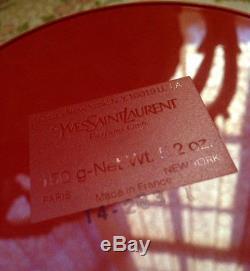 Beyond Rare Sealed Huge 150g Ysl Opium Vintage Perfumed Talc Dusting Body Powder