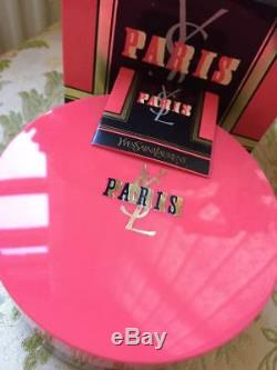 Beyond Super Rare Huge 150g Ysl Paris Vintage Perfumed Talcum Dusting Powder