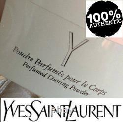 Beyond Super Rare Huge 150g Ysl Y Vintage Perfumed Talcum Talc Dusting Powder