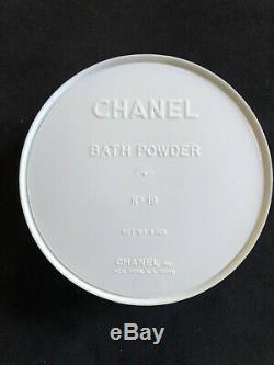 CHANEL No 19 PERFUMED BATH DUSTING POWDER 8 Oz NEW SEALED CONTAINER