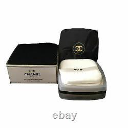 CHANEL No 5 Fragrance AFTER BATH BODY DUSTING POWDER 5.0oz Sealed Talc Talcum