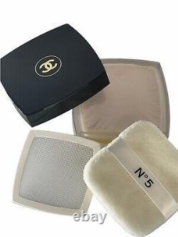 CHANEL No. 5 Perfumed After Bath Powder 1.7 oz. Sealed Dusting Powder READ
