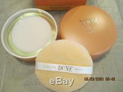 CHRISTIAN DIOR DUNE Perfumed Dusting Body Powder 5.3oz 150g Sealed