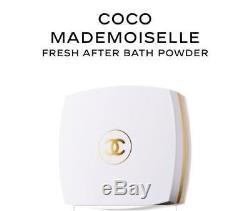 Chanel COCO MADEMOISELLE Fresh After Bath Body Dusting Powder 5oz 142g HTF DEAL