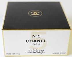 Chanel No 5 Perfume The Loose Dusting Bath Powder Discontinued 145g 5.11oz Nib