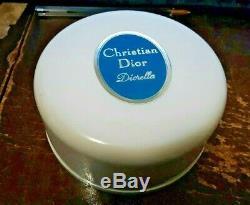 Christian Dior Diorella Perfumed Dusting Powder-sealed 4 Oz-rare
