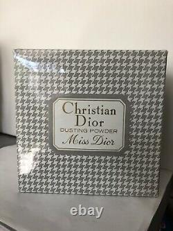 Christian Dior MISS DIOR 8 Oz Perfumed Body Dusting Powder Vintage Disc'd NISB