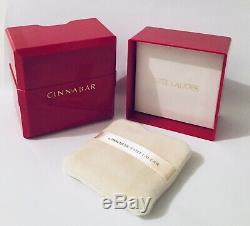 Cinnabar Perfumed Body Dusting Powder 3 oz Estee Lauder Women's Fragrance 5/17