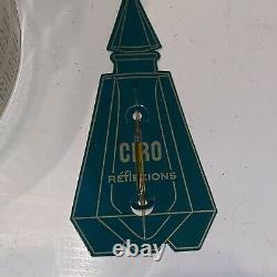Ciro Reflexions Esscent Perfume 1 oz Sealed Dusting Powder 5.0 Oz. 1 Tester Vtg