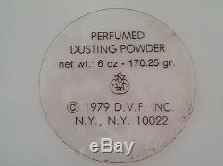 Diane Von Furstenberg TATIANA Perfumed Dusting Powder 6oz Sealed NOS Vtg