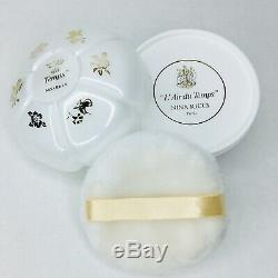 Discontinued Vintage Nina Ricci LAir du Temps Dusting Powder Perfume Gift Set