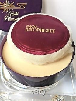 Enjoli Midnight 3 Oz Night Pleasures Perfume Dusting Powdercharles Of The Ritz