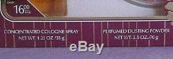 Enjoli Vintage Revlon Perfume Set Spray Cologne 1.25 oz Dusting Powder 2.5 oz