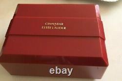 Estee Lauder CINNABAR Perfume Body Dusting Powder 6oz 180g HUGE Rare NIB