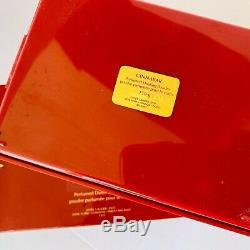 Estee Lauder CINNABAR Perfumed Dusting Powder New in Original Box Large 150g