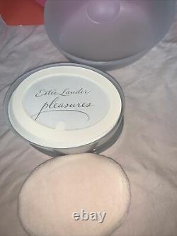 Estee Lauder PLEASURES Body Powder Perfumed Dusting 3.5 oz Fragrance Rare NEW