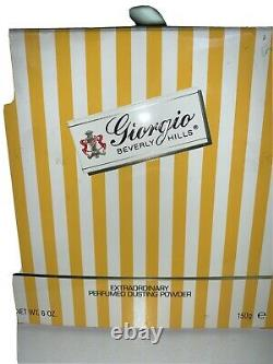 Giorgio Beverly Hills Dusting Powder 6.0 Oz. NWB. NOS