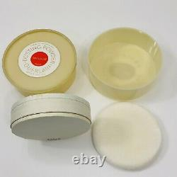 Guerlain Dusting Powder Shalimar Vintage Perfumed 2 Ounce Sealed Inside