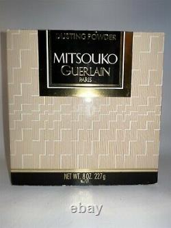 Guerlain Mitsouko 8 oz Perfume Dusting Powder Talc 227 g Large Vintage Rare