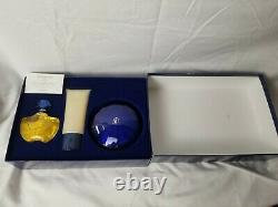 Guerlain Paris Shalimar Gift Set Eau De Toilette Gel Perfumed Dusting Powder