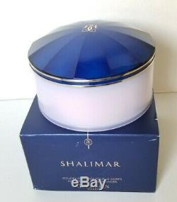 Guerlain Paris Shalimar Perfumed Dusting Powder 4.4oz/135g. New