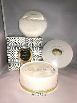 Guerlain Shalimar Dusting Powder Talc 227 G Perfume 8 Oz Rare Vintage 99%