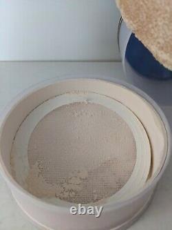 Guerlain Shalimar Perfumed Dusting Powder 4.4 oz/125g Vintage Half Full