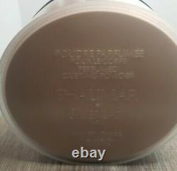 Guerlain Shalimar Perfumed Dusting Powder w Puff Sifter-Sealed 125g VINTAGE