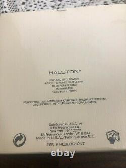 HALSTON Perfumed Bath Dusting Powder by Elizabeth Arden 150g / 5.3oz NEW VINTAGE