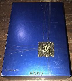 HTF Guerlain Paris Shalimar Gift Set Eau De Toilette Gel Perfumed Dusting Powder