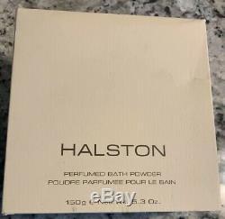 Halston Perfumed Bath Dusting Powder 5.3 oz DISCONTINUED NEW