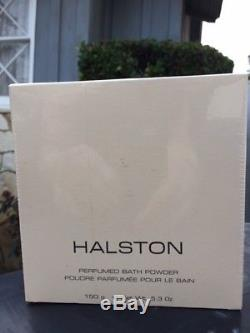 Halston Perfumed Bath Dusting Powder 5.3 oz NIB Sealed Body Fragrance Perfume