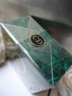 Iv. DIOR POISON Perfumed Dusting Powder Talc 120g Mint Sealed Box & Carrier Bag
